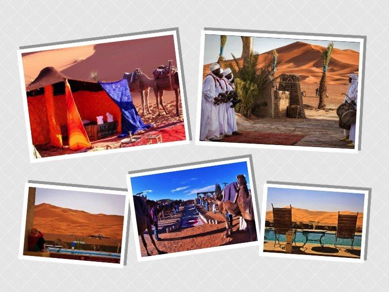 Desert tent: Bivouac Palmyras Y Dunas