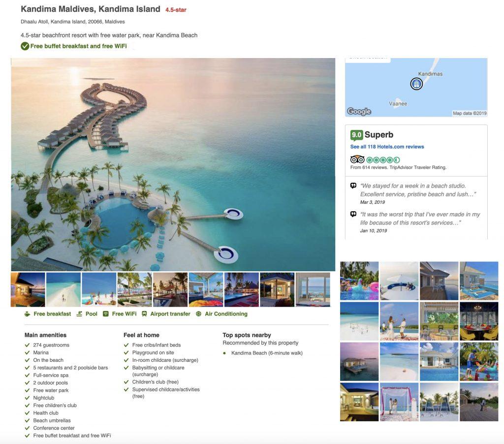 Kandima Resort & Spa Maldives