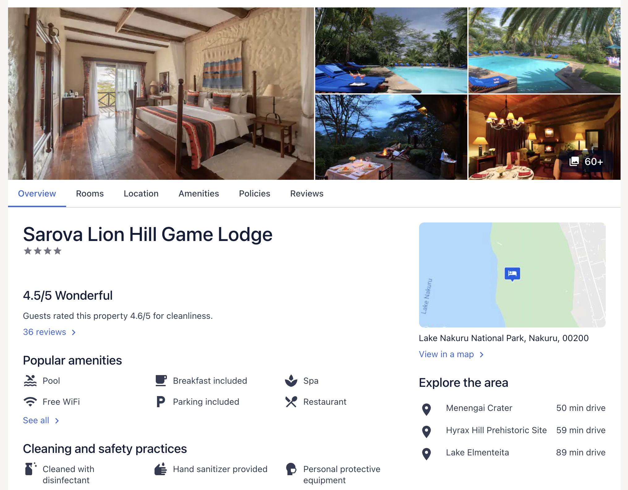 Lionhill Lodge