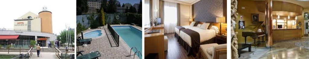 Sarria 4 star hotel Alfonso